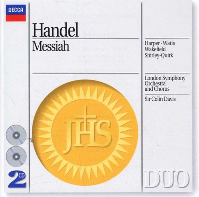 Sir Colin Davis. Handel: Messiah (2 CD)