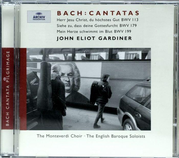 EBS/GARDINER. BACH CANTATAS BWV 199/179/113