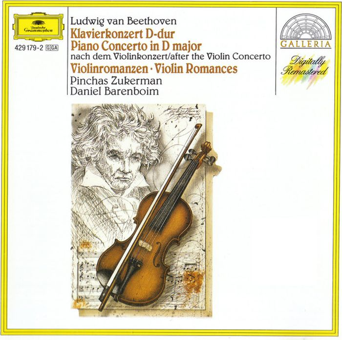 Pinchas Zukerman. Beethoven: Piano Concerto After The Violin Concert pinchas zukerman brahms the violin sonatas the viola sonatas 2 cd
