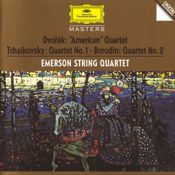 Emerson String Quartet. Dvorak. Tchaikovsky. Borodin. String Quartets недорого