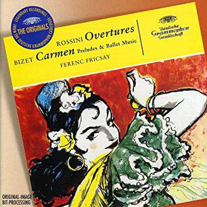 Ferenc Fricsay. Rossini: Overtures; Bizet: Carmen-Suite j rive king paraphrase de concert on bizet s carmen