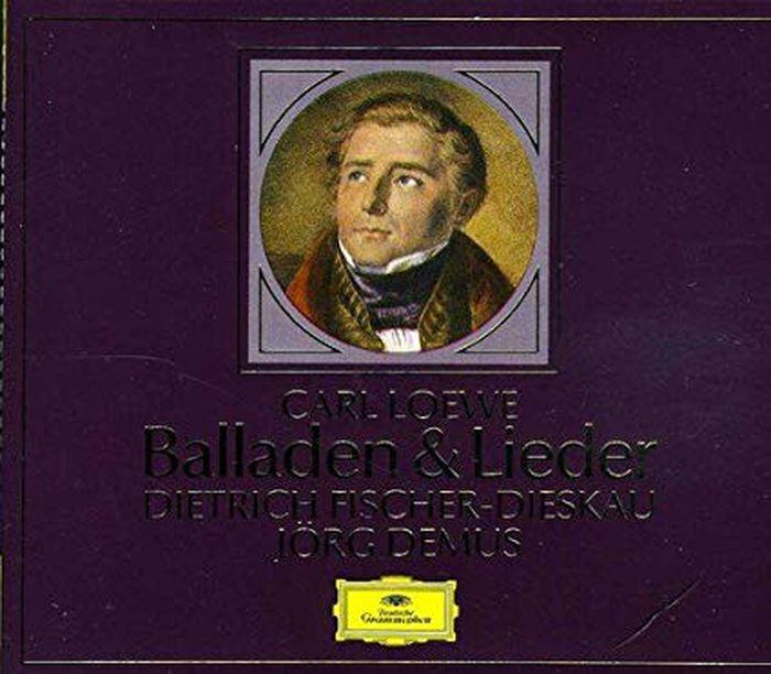 Dietrich Fischer-Dieskau. Loewe. Ballads & Lieder (2 CD) дитрих фишер дискау кристоф эшенбах dietrich fischer dieskau schumann lieder 6 cd
