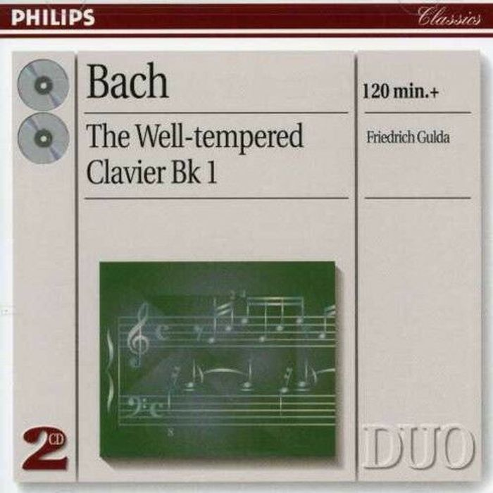 Freidrich Gulda. Bach: The Well-Tempered Clavier (2 CD)