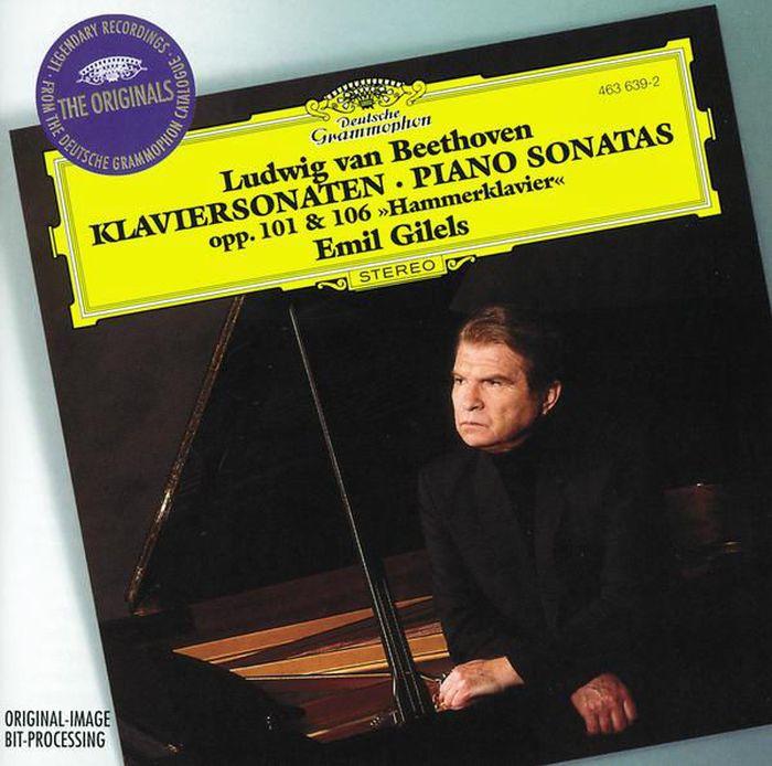 Emil Gilels. Beethoven: Piano Sonatas Opp. 101 & 106 эмиль гилельс emil gilels beethoven piano sonatas no 21 23 26