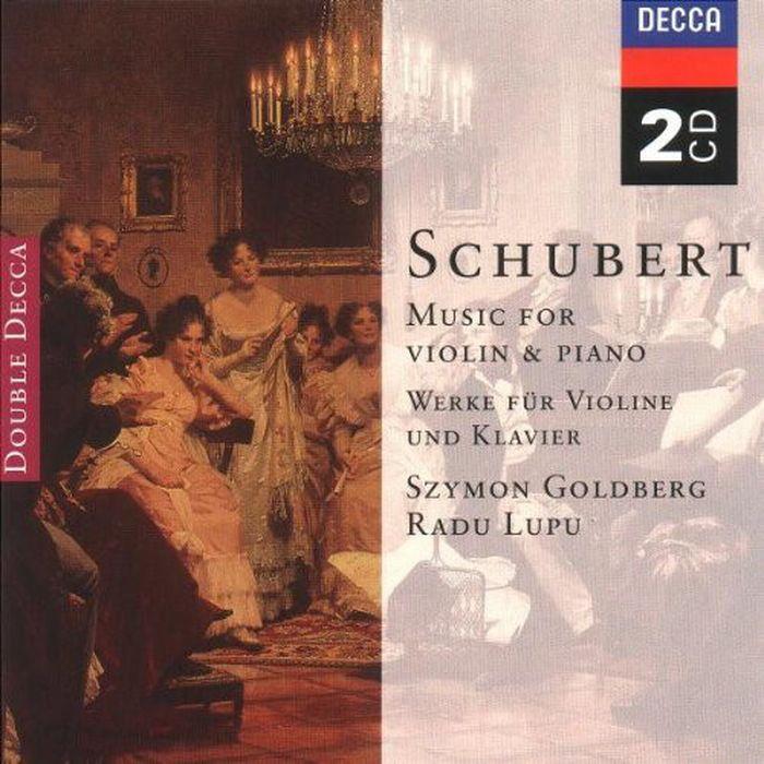 Szymon Goldberg. Schubert: Music for Violin & Piano; Arpeggione Son (2 CD) whoopi goldberg london