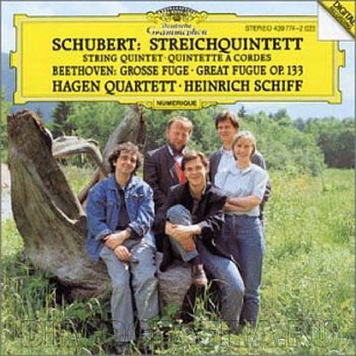 цена на Hagen Quartett. Schubert: String Quintet in C op. posth.163 D956