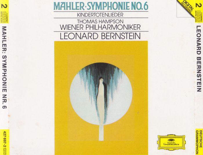 лучшая цена Leonard Bernstein. Mahler: Symphony No. 6 (2 CD)