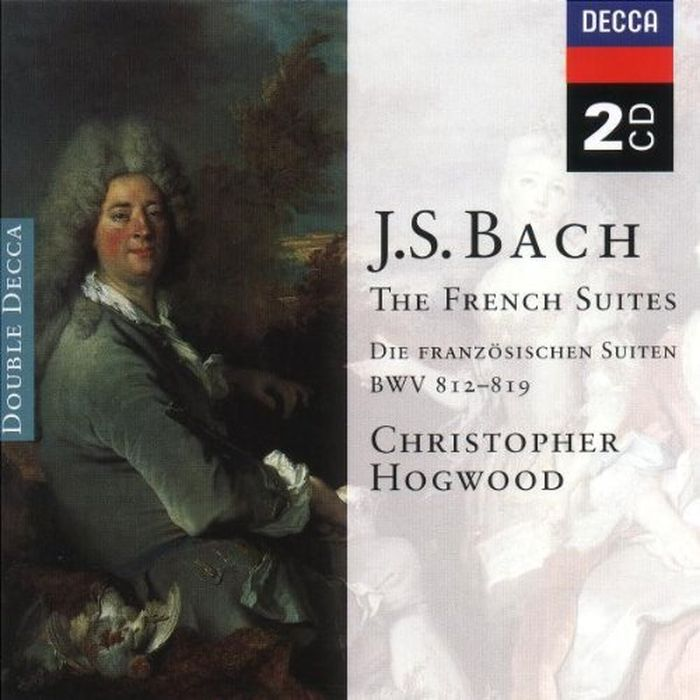 Christopher Hogwood. Bach: The French Suites (2 CD) andras schiff bach french suites nos 1 6 italian concert 2 cd