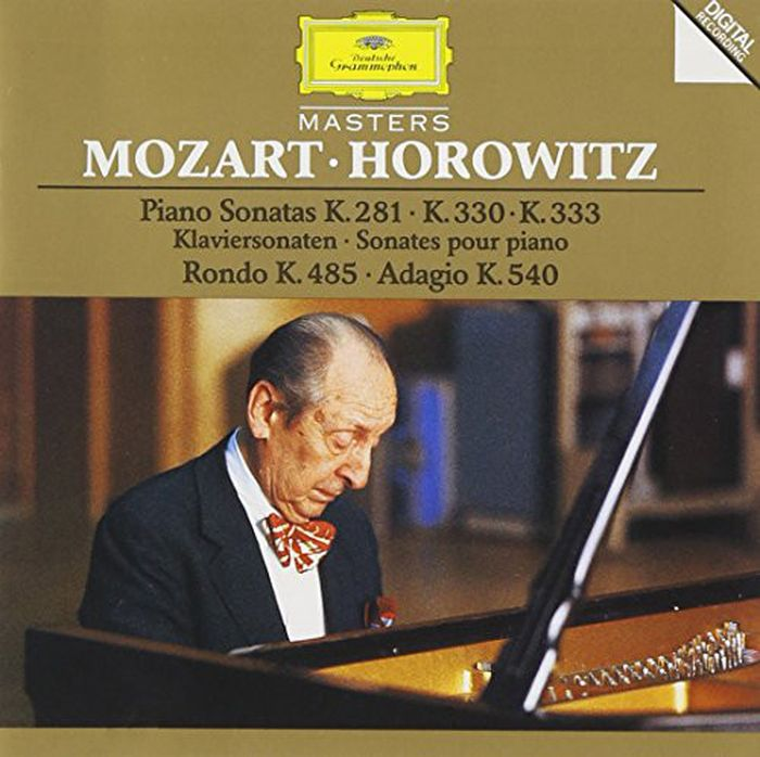 Vladimir Horowitz. Mozart. Piano Sonatas K.281, K.330 & K.333. Rondo K.485. Adagio K.540