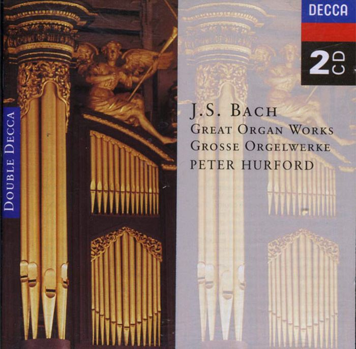 Peter Hurford. Bach. Great Organ Works (2 CD) мари клэр элэйн адольф буш sankt nicolai kirke marie claire alain bach complete works for organ 15 cd