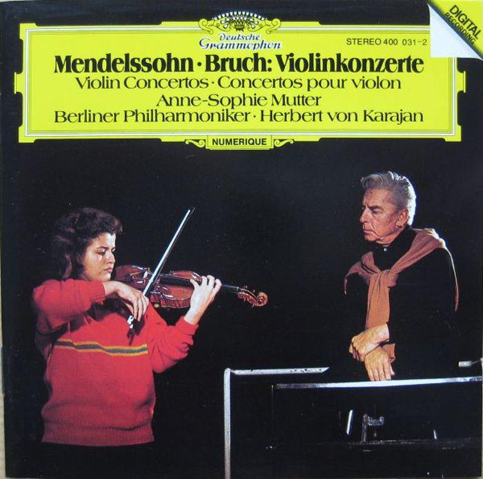 Herbert von Karajan. Mendelssohn / Bruch: Violin Concertos цена в Москве и Питере