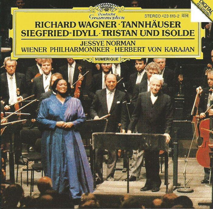 Herbert von Karajan. Wagner: Tannhauser Overture; Siegfried-Idyll; Tristan And Isolde (Prelude) richard wagner siegfried idyll