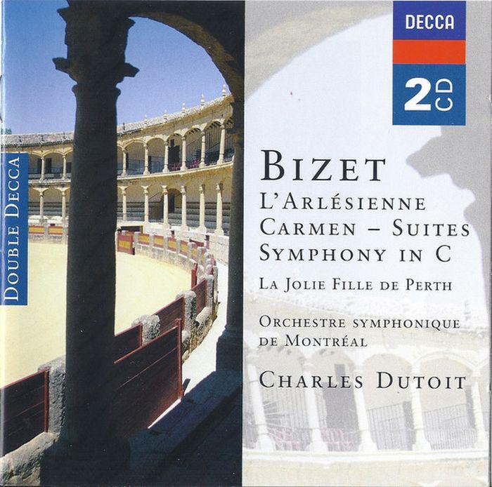Charles Dutoit. Bizet. L'Arlesienne & Carmen Suites (2 CD) j rive king paraphrase de concert on bizet s carmen