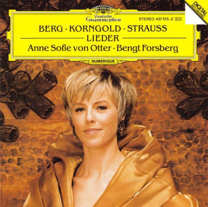 лучшая цена Anne Sofie Von Otter. Berg / Korngold / Strauss, R.: Lieder
