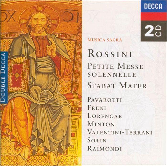 Various Artists. Rossini: Petite messe solennelle; Stabat Mater (2 CD) j kocięda stabat mater