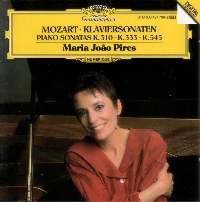 цена на Maria Joao Pires. Mozart: Piano Sonatas K.310, K.333 & K.545
