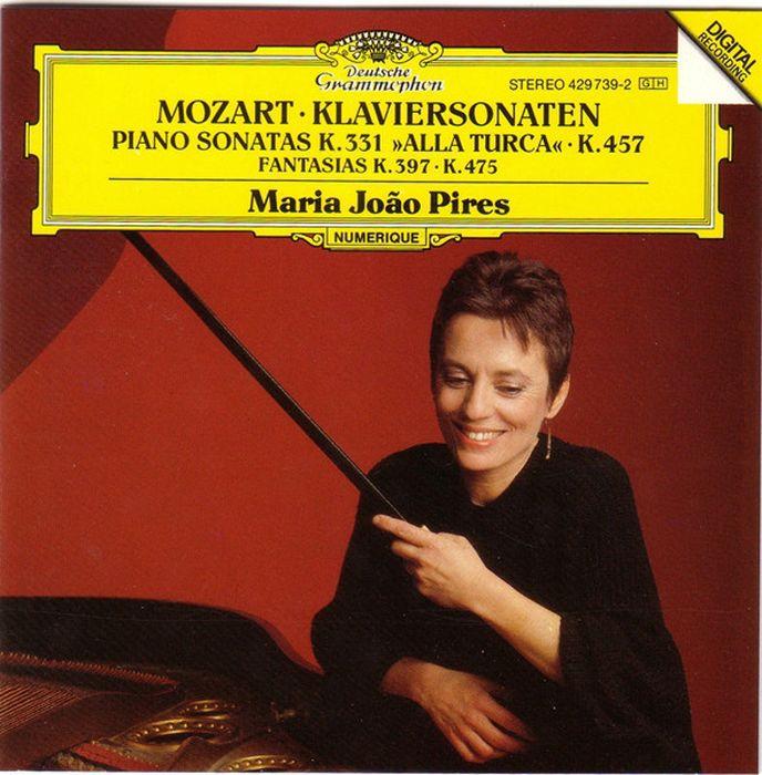 цена на Maria Joao Pires. Mozart: Piano Sonatas K.457 & K.331, Fantasias K.