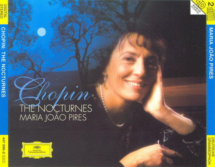 Maria Joao Pires. Chopin: The Nocturnes (2 CD) chopin chopin 24 etudes op 10 25