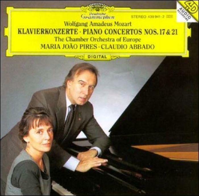Maria Joao Pires. Mozart: Piano Concertos Nos.17 & 21 стоимость