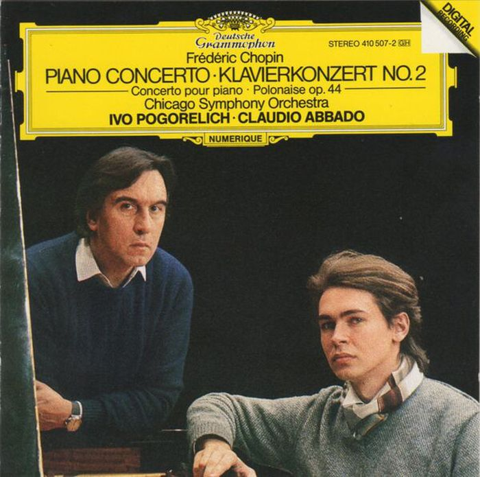 лучшая цена Ivo Pogorelich. Chopin: Piano Concerto No.2; Polonaise Op.44