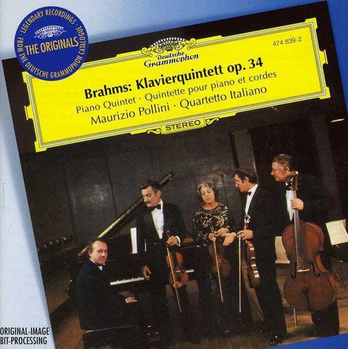 Maurizio Pollini. Brahms: Piano Quintet Op. 34 f p lachner piano quintet no 2 op 145