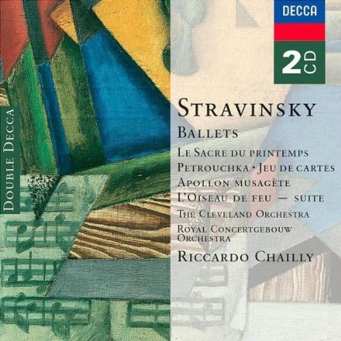 лучшая цена Riccardo Chailly. Stravinsky: Ballets - Le Sacre du Printemps, Petro (2 CD)