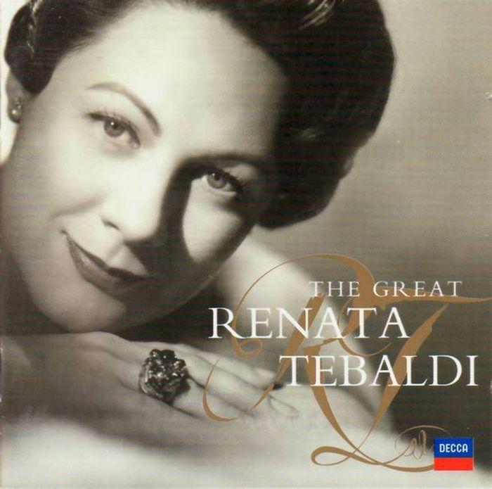 Renata Tebaldi. The Great Renata Tebaldi (2 CD) the decca sound 2