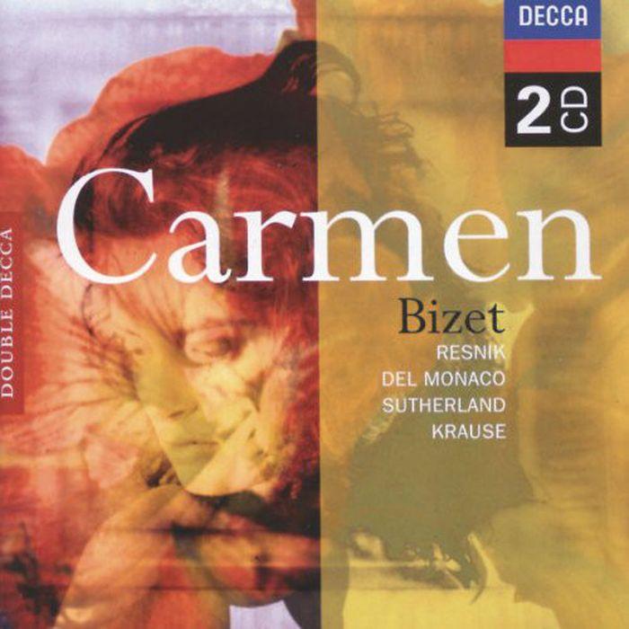 Various Artists. Bizet: Carmen (2 CD) the decca sound 2