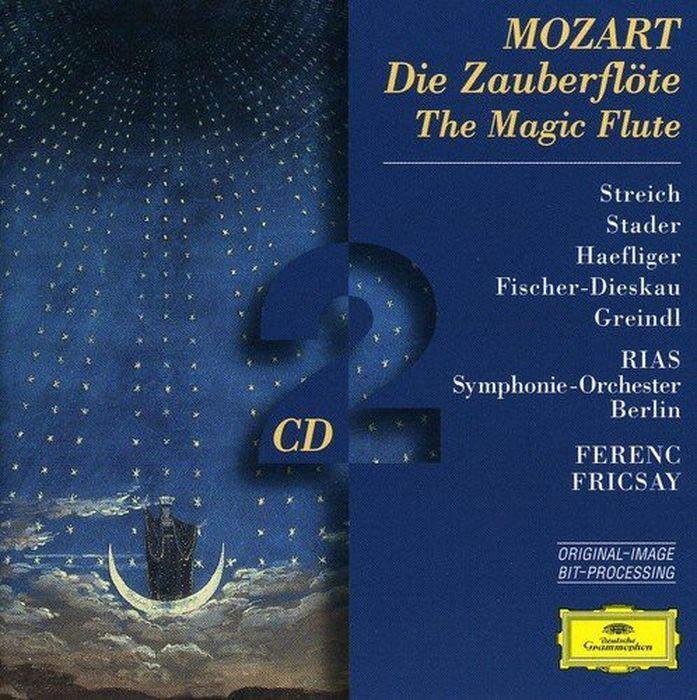 Ferenc Fricsay. Mozart: Die Zauberflote (2 CD) цена