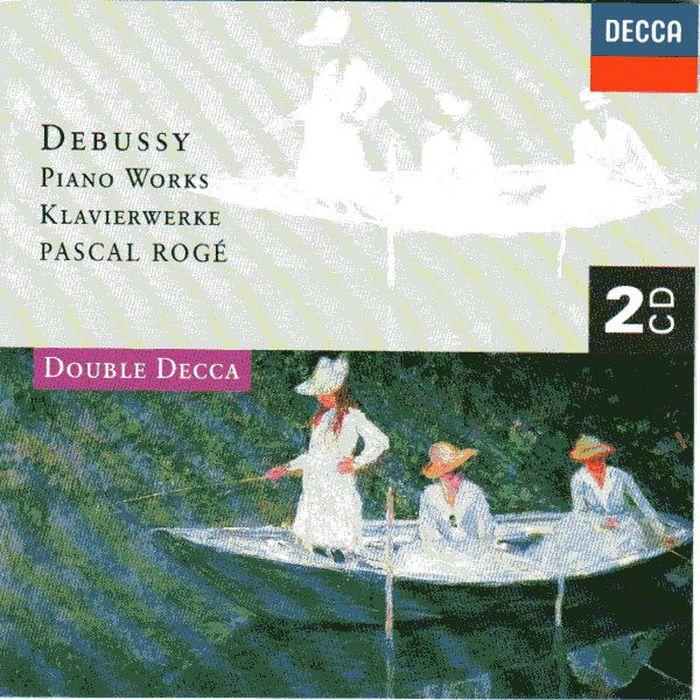 Pascal Roge. Debussy: Piano Works (2 CD) цена и фото