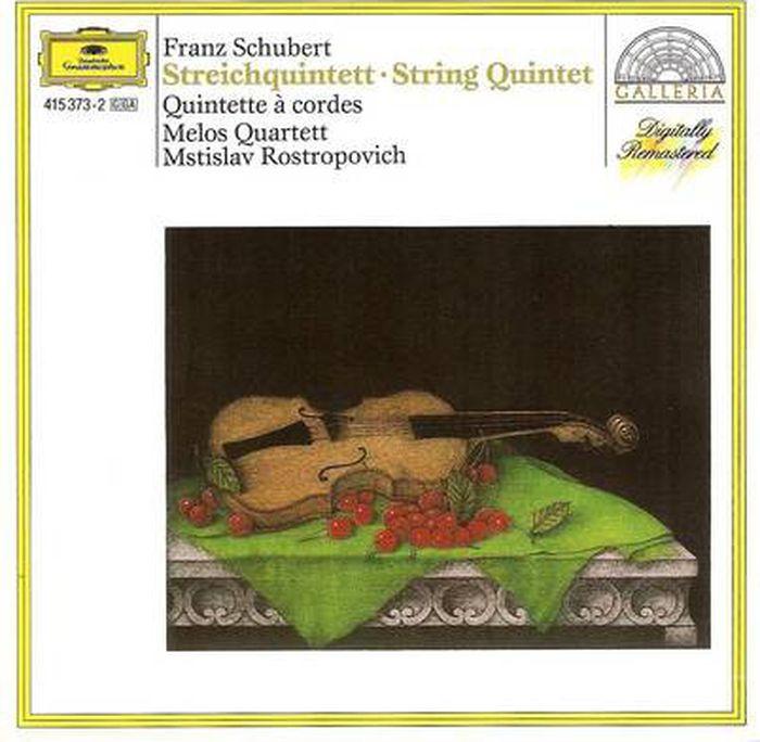 Mstislav Rostropovich. Schubert: String Quintet h koessler string quintet