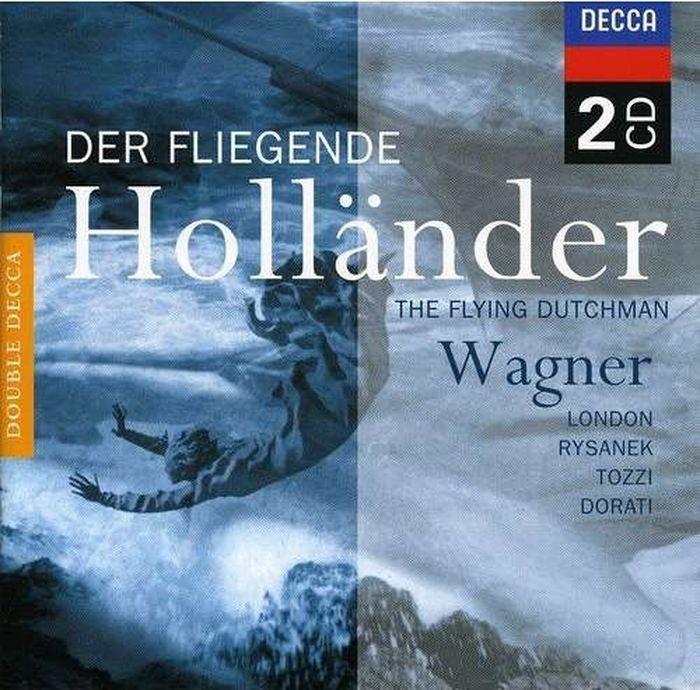 Antal Dorati. Wagner: Der Fliegende Hollander (2 CD)