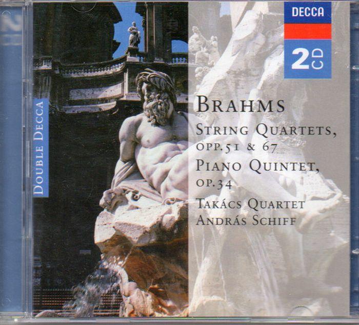 Takacs Quartet. Brahms: String Quartets & Piano Quintet (2 CD) h koessler string quintet