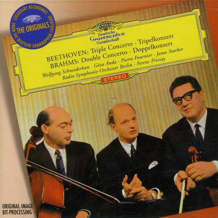 лучшая цена Ferenc Fricsay. Beethoven: Triple Concerto, Brahms: Double Concerto