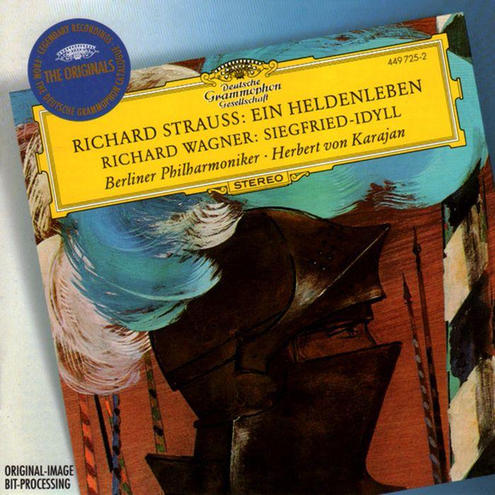 Herbert von Karajan. Strauss, R.: Ein Heldenleben/ Wagner: Siegfried-Idyll herbert von karajan j strauss