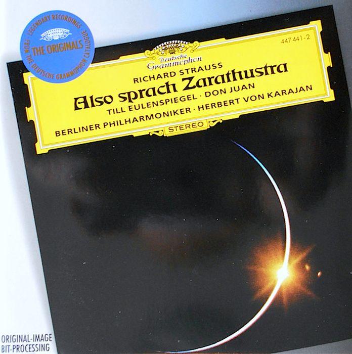 Herbert von Karajan. R. Strauss: Also sprach Zarathustra; Till Eulensp herbert von karajan j strauss