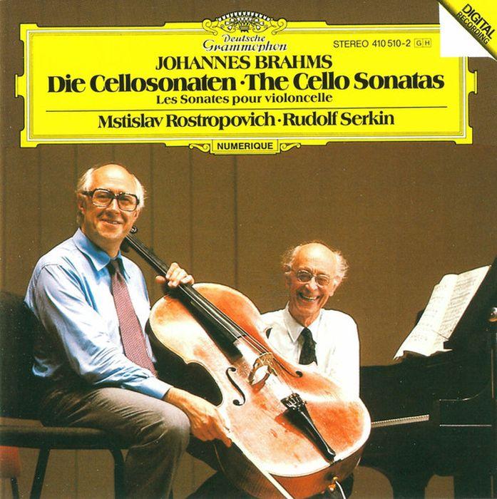 Mstislav Rostropovich. Brahms: The Cello Sonatas леонидас кавакос ван юйцзя leonidas kavakos yuja wang brahms the violin sonatas