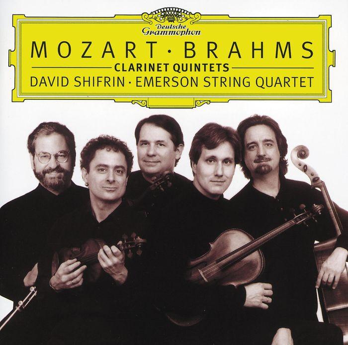 Emerson String Quartet. Mozart. Brahms. Clarinet Quintets стоимость