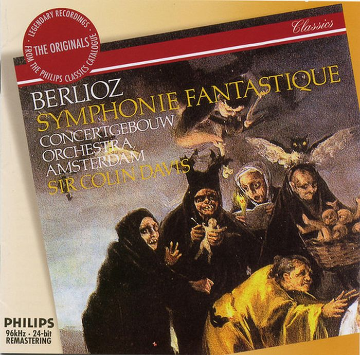 Sir Colin Davis. Berlioz: Symphonie Fantastique suddeutsche philharmonie альберто лиццио berlioz symphonie phantastique op 14