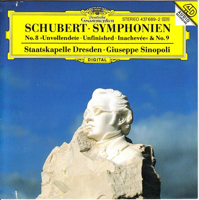 Giuseppe Sinopoli. Schubert: Symphony Nos.8 & 9 цена 2017