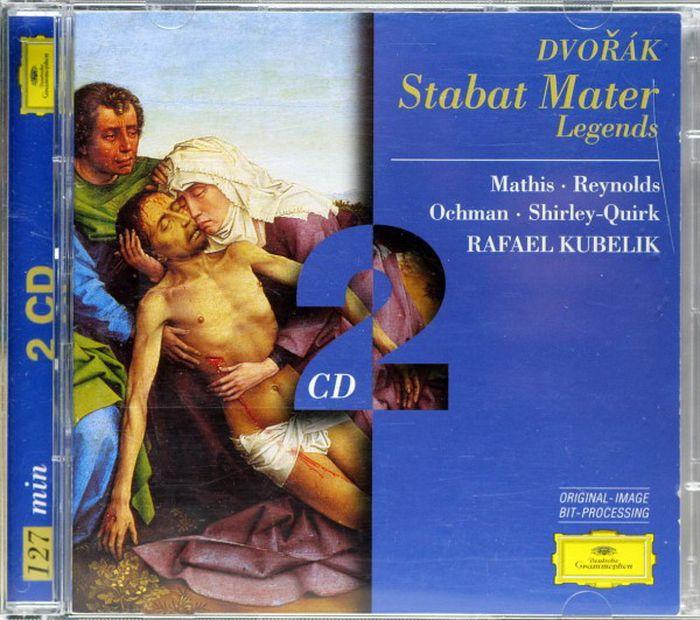 Rafael Kubelik. Dvorak: Stabat Mater; Legends (2 CD) j kocięda stabat mater