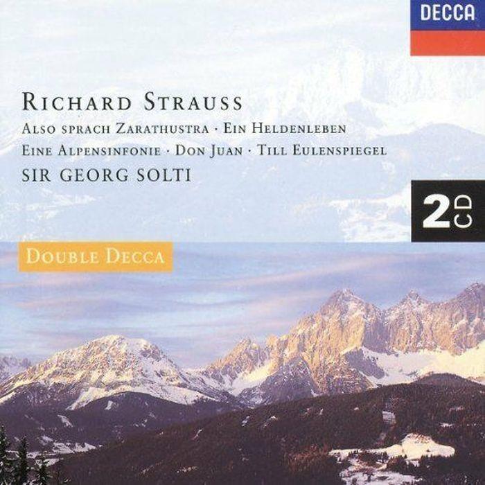 Sir Georg Solti. Strauss, R.: Ein Heldenleben; Also Sprach Zarathus (2 CD) the decca sound 2