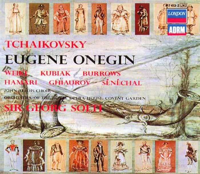 Sir Georg Solti. Tchaikovsky: Eugene Onegin (2 CD) tchaikovsky valery gergiev eugene onegin blu ray