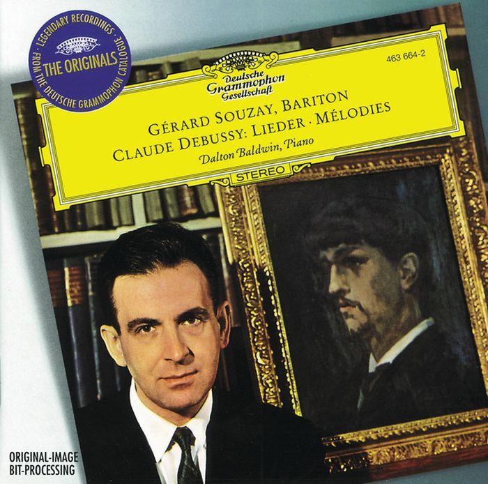 Gerard Souzay, Dalton Baldwin. Debussy: Melodies
