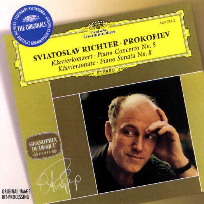 Sviatoslav Richter. Prokofiev: Piano Concerto No.5; Piano Sonata No.8 sergei rachmaninov piano concerto no 2 sergei prokofiev piano concerto no 5 sviatoslav richter