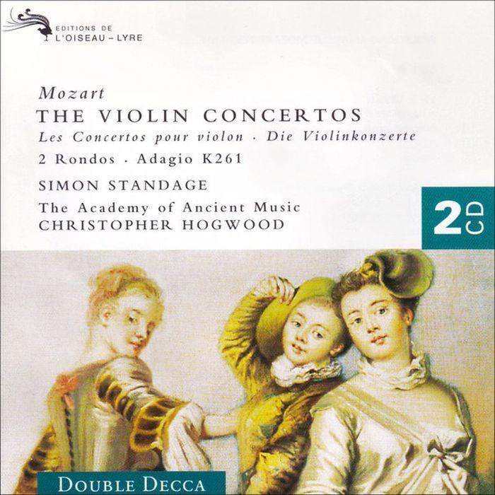 Christopher Hogwood. Mozart: The Violin Concertos (2 CD) the decca sound 2