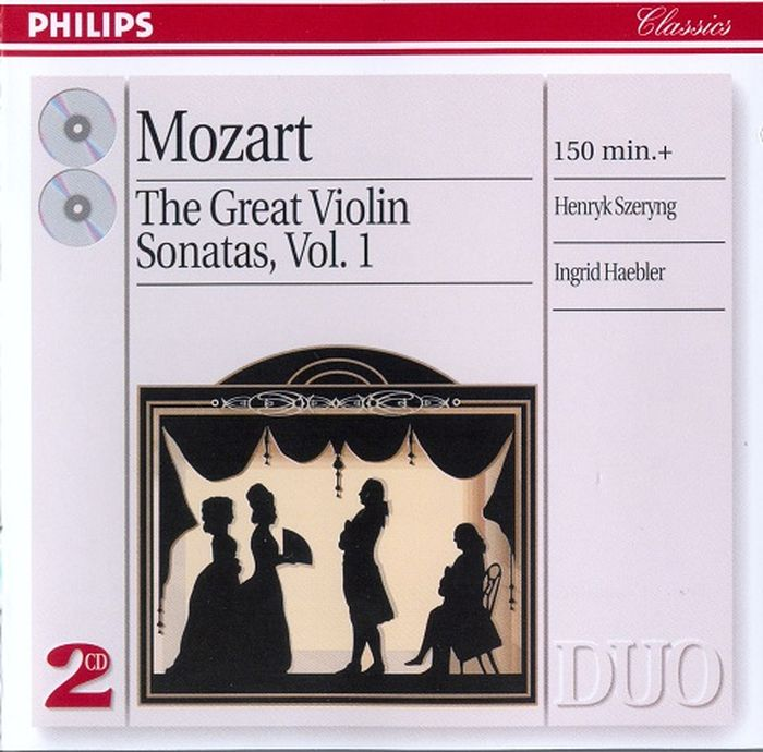 Ingrid Haebler. Mozart. The Great Violin Sonatas, Vol.1 (2 CD) генри шеринг чарльз райнер szeryng plays kreisler and other tresures for the violin