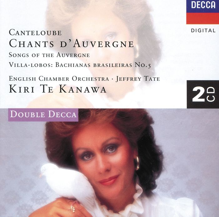 лучшая цена Kiri Te Kanawa. Canteloube: Chants d'Auvergne / Villa-Lobos: Bachian (2 CD)