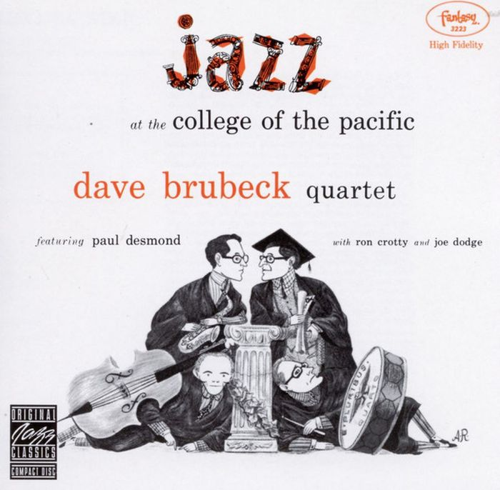 Dave Brubeck. Jazz At The College Of The Pacific the dave brubeck quartet the dave brubeck quartet time out lp