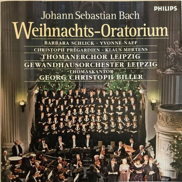 лучшая цена Gewandhausorchester Leipzig. J.S. Bach: Weihnachts-Oratorium BWV 248 (2 CD)